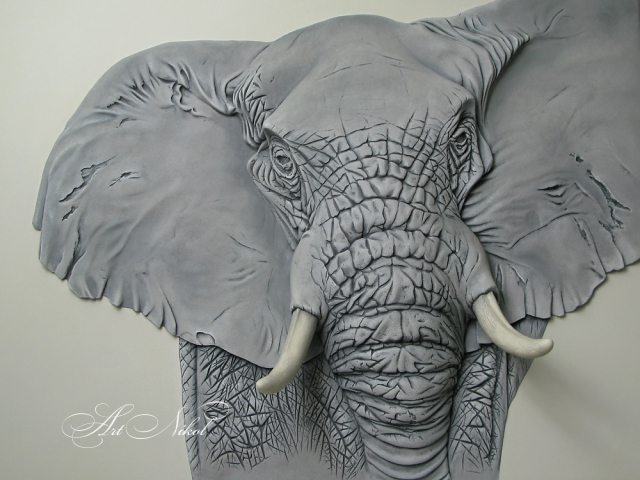 Барельєф Слон