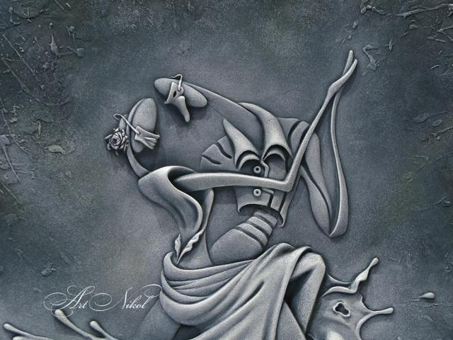 Bas-relief Dance