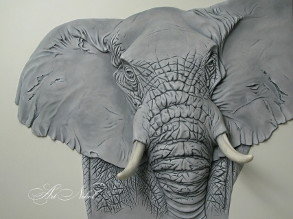 Барельеф Слон