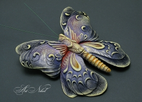 Bas-relief Butterfly