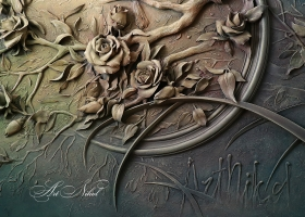 Bas-relief Moonlight Sonata