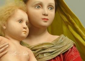 Кукла Мадонна с младенцем