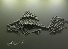 Барельеф Риба