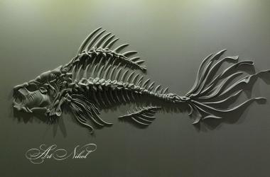 Барельєф Риба - Artnikol